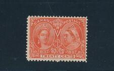 "Canada #59 ""(1897) 20c QUEEN VICTORIA JUBILEE""; F-VF; UNUSED; NO FAULTS; CV $275"