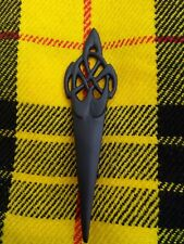 New Scottish Swirl Sword Kilt Pin Matt Black Finish/Brooch Kilt Pin/Kilt Pins