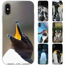 dessana Pinguine TPU Silikon Schutz Hülle Case Handy Tasche Cover für Apple