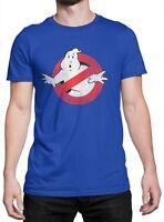"T-shirt Unisex ""Ghostbusters"" maglietta 100% cotone - BLU"