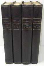 NEWGATE CALENDAR Memoirs Criminal History Law England KNAPP BALDWIN 1824-8