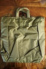 USN US NAVY GRAB & GO O.D. GREEN PILOT'S UNIVERSAL HELMET GEAR EQUIPMENT KIT BAG