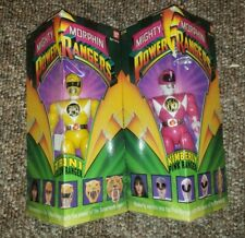 "1993 Bandai 8"" Figure Power Rangers Trini and Kimberly, Yellow And Pink Rangers"