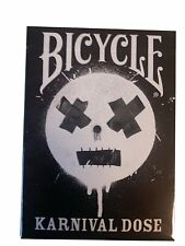 Karnival Black Dose Deck of Bicycle Playing Cards Reproduction of the Original