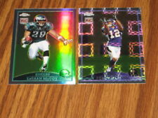 2009 TOPPS CHROME 2 ROOKIE REFRACTOR LOT LeSEAN McCOY #180 PERCY HARVIN #155