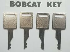(4) Bobcat Heavy Equipment Keys, will fit 730, 731 732, 741, 742, 743,  Skidder,