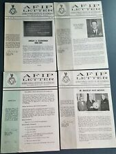 1969-1970 AFIP Letters Armed Forces Institute of Pathology Dwight D Eisenhower