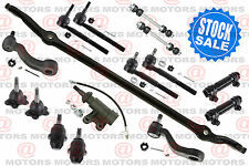 Chevrolet K1500 1999 Center Link Tie Rods Adjusting Sleeve Ball Joints Idler Arm