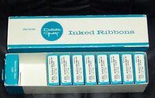 (9) Nine E201 Black & Red Nytronic Inked Ribbons