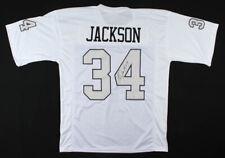 BO JACKSON Signed Autographed White Jersey Beckett (BAS) COA