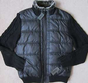 "BUFFALO ( Black ) ""WOTO"" Softshell Mix-Media Jacket Men's NWT $119"