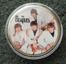 The Beatles 24KT GOLD MEMORABILIA COLLECTIBLE COIN  #1s