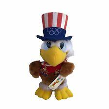 Vintage 1984 LA Olympic Games Mascot Sam The Eagle Pins Applause Stuffed Plush