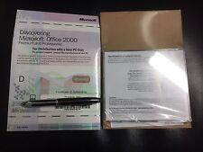 Office 2000 Professional Edition Voll Version OEM mit MwSt Rechnung, englisch
