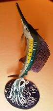 Kaiyodo Aquatales Marine Life Collection  Black Tide Marlin Sailfish Sail Fish