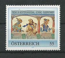 """Österreich PM personalisierte Marke """"Fresko im Meistersingersaal SCHWAZ"""" **"""