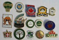 CANADA ONTARIO MINOR HOCKEY KITCHENER MISSISSAUGA HORNETS Pin Lot of 15