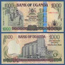 UGANDA  1000 Shillings 2008  UNC  P. 43 b