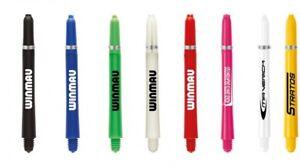 10 x SETS WINMAU NYLON SIGNATURE DART STEMS SHAFTS - Choose Colour / Length