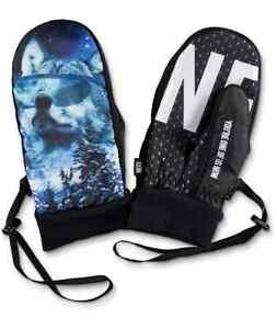 Neff Mens Howler Character Snowboard Mitt NWT M, XL