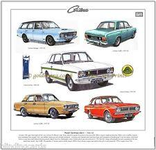 FORD CORTINA MK2 1966-70 Stampa artistica - LOTUS-CORTINA Savage 1600E MARK 2 Mk