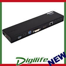 TARGUS ACP70AU USB 3.0 SuperSpeed DUAL VIDEO Docking Station