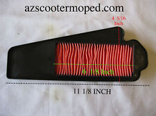 Scooter Moped Air Cleaner Filter 49cc 50cc Roketa Tank NST YIBEN WILDFIRE LANCE