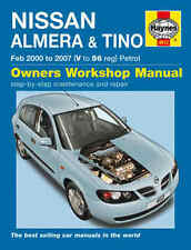 Nissan Almera Repair Manual Haynes Workshop Service Manual 2000-2007  4612