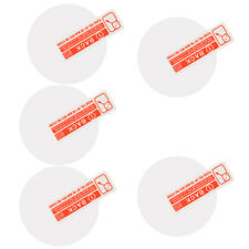 5 Pieces. 9H Toughened Round Protective Film Protective Glass for 35mm Diameter