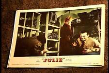 JULIE 1956 LOBBY CARD #4 DORIS DAY