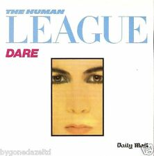 The Human League - DARE promo CD Free UK Post