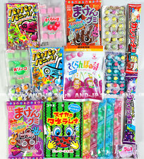 Japanese Various Candy Assorted set Everything Candy Gummy Ramune Choco Sweet!