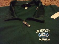 Ford University Durham Embroidered Jacket Windbreaker Shirt Size Adult XL
