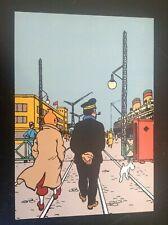 Carte postale Tintin Le Monde de Tintin