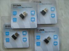 Lot of 4 DWA-131/F1A D-Link WiFi N300 Nano USB Adapter Mini Wireless 300Mbs 4pcs