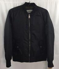 NWT $180 LEVI STRAUSS & CO Black Bomber Jacket Men's Size Small