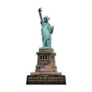 USA LIBERTY STATUE Metall Schild 61cm! groß New York Straßenschild Freiheits
