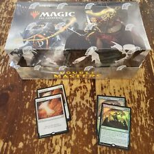 Double Masters Sealed Booster Box with 4x Promos