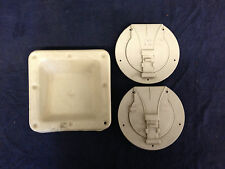 2 Vintage Cord Hatch Covers and Universal Hatch Trailer