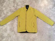 NEW Stone Island Jacket Green- Black Fur Lined Size XL