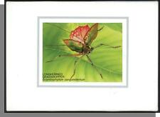 1986 Chicago Ameripex Singapore Set of 12 Insect Maximum Cards!
