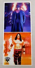 Kane Undertaker Eddie Guerrero Wrestling Poster 10x24 Wrestler WWF WWE Wrestle