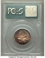 """Canada: George VI """"High Relief"""" 25 Cents 1951 MS65 PCGS"""