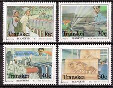 Transkei 1988 Mi 218-221 Dekenfabriek, Blanket factory MNH