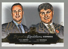 PAUL COFFEY/RAY BOURQUE 2016-17 THE CUP SIGNATURE RENDITIONS GOLD DUAL AUTO #2