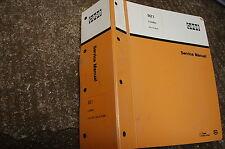 CASE 921 FRONT END WHEEL LOADER Repair Shop Service Manual book overhaul 1992