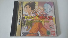 DBZ DRAGON BALL Z THE LEGEND - IDAINARU DENSETSU - SEGA SATURN - JAP COMPLET