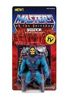 MASTERS OF THE UNIVERSE VINTAGE SKELETOR 5 1/2 INCH ACTION FIGURE SUPER7 RETRO