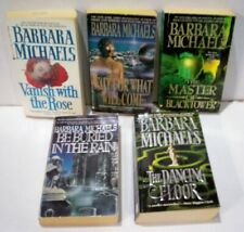 BARBARA MICHAELS   LOT OF 5  NOVELS COPYRIGHTS 1960'S,70'S,80'S 90