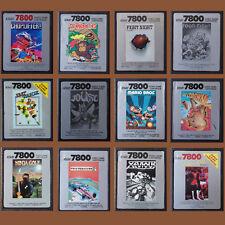 Atari 7800 ► Die besten Kultspiele u.a. Mario Bros | Ninja Golf | Donkey Kong